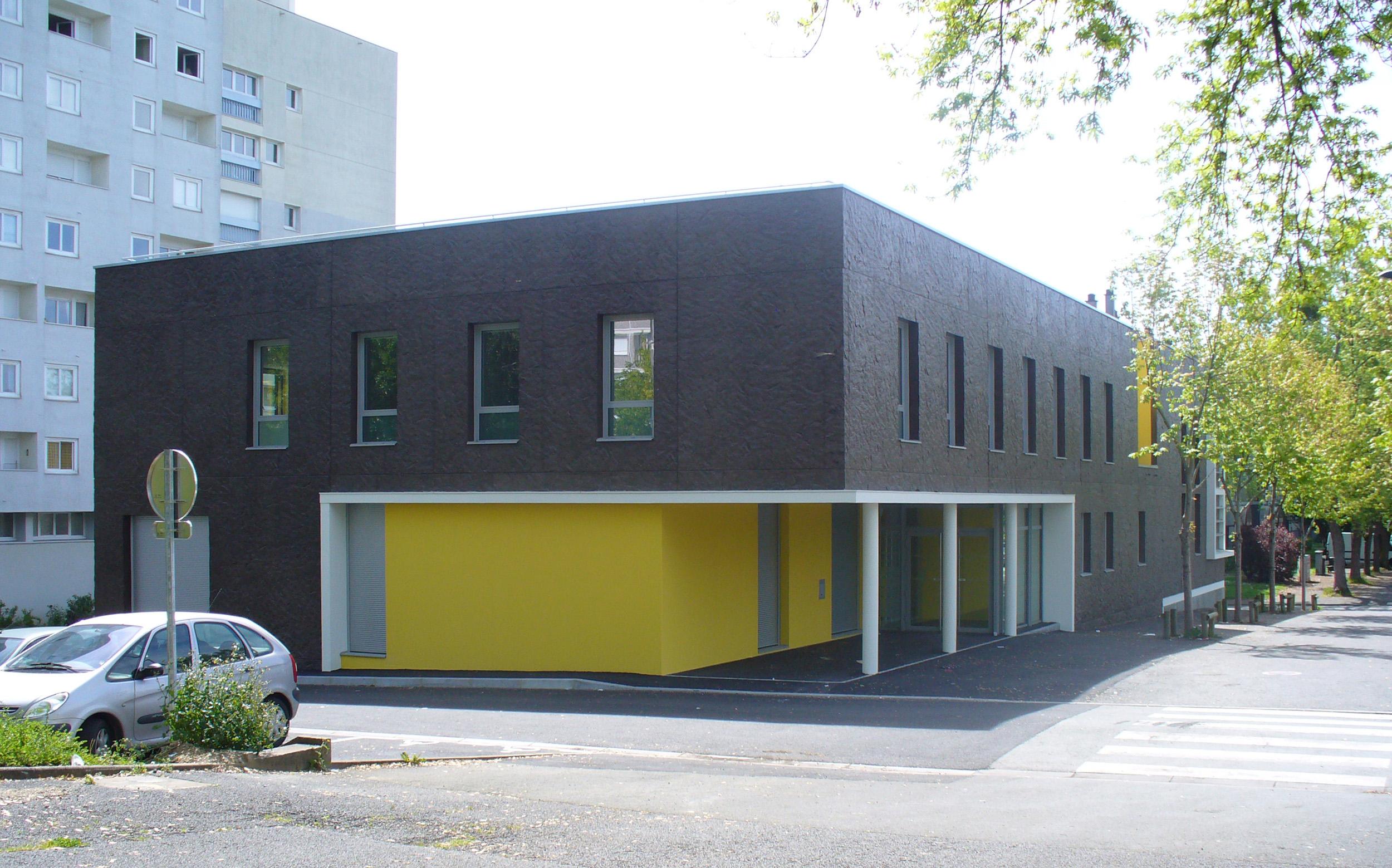 Édifices Architectes, Pôle Emploi Monplaisir, Angers (49)