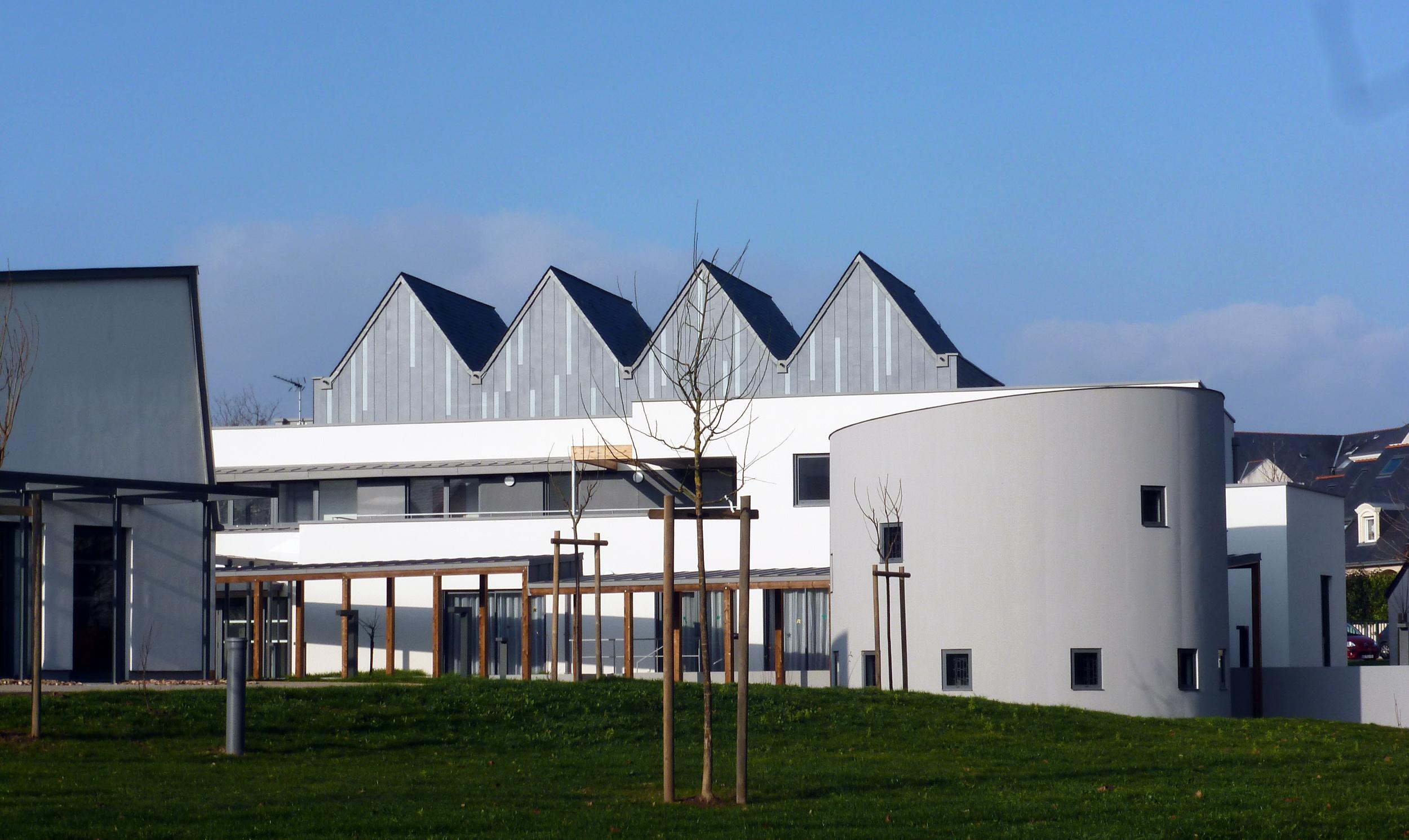 Édifices Architectes, Béguinage, Angers (49)